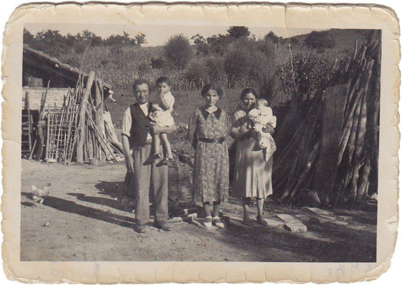 Famiglia Mainerdo anni Quaranta