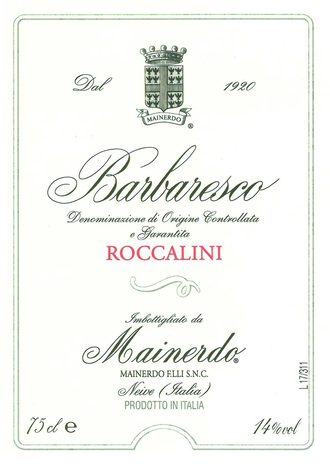 Barbaresco Roccalini